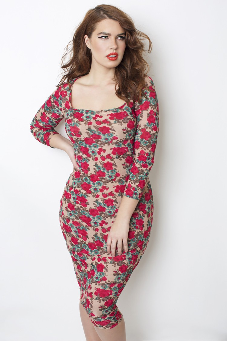 Floral_Bodycon_Dress_2